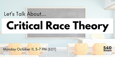 Let's Talk About Critical Race Theory tickets