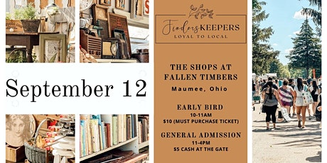 Finders Keepers at The Shops at Fallen Timbers (Maumee, Ohio) tickets