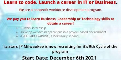 i.c.stars Milwaukee Internship Program Information Session tickets