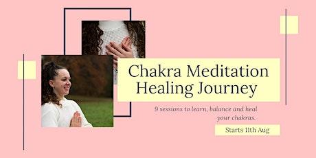 Chakra Guided Meditation Healing Journey tickets