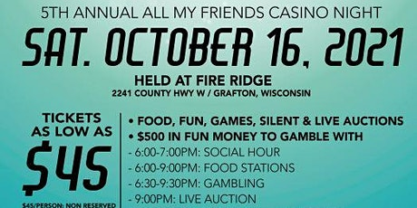 5th Annual All In For All My Friends Casino Night tickets