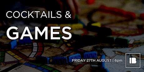 Cocktails and Games at Impact Brixton tickets