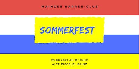 Sommerfest des MNC Tickets