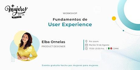 Workshop: Fundamentos de User Experience entradas