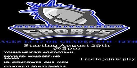 Young Men's Empowerment Flag Football League tickets