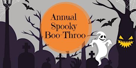 Spooky Boo Throo tickets