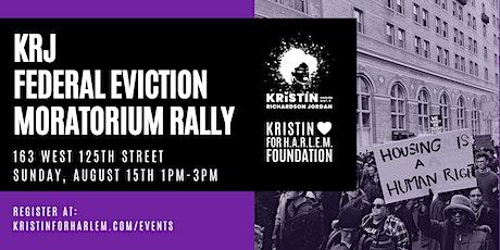 KRJ Federal Eviction Moratorium Rally tickets