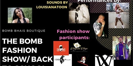 Bomb Fashion show/ Back to School popup tickets