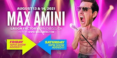 Max Amini Live in San Diego - 2021 tickets