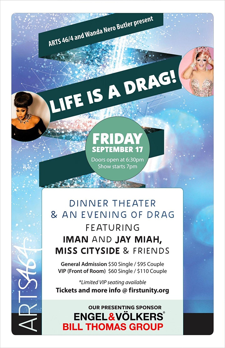 LIFE IS A DRAG - A Dinner Theater Drag Show Event image