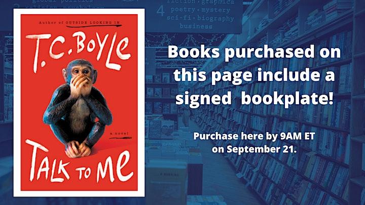 T.C. Boyle: Talk to Me image