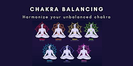 Chakra Balancing - Harmonize Your Unbalanced Chakra tickets
