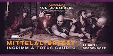 Mittelalterfest • Deggendorf • Zauberberg Kultur Express Tickets