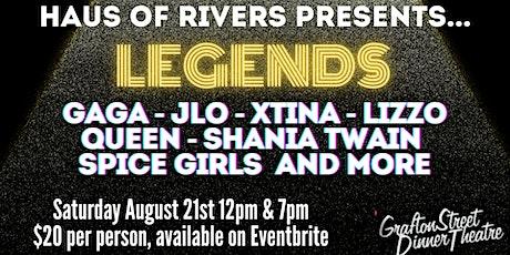 Legends tickets