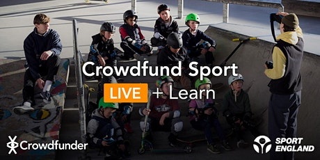 Crowdfund Sport LIVE + Learn: Introduction to Crowdfunding tickets