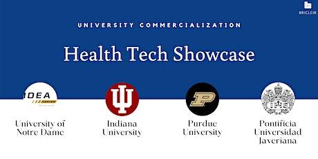 University Commercialization of Health Tech entradas