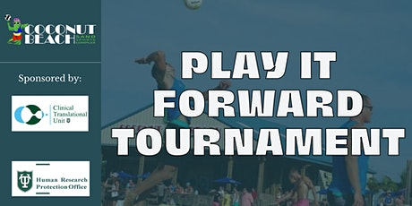 """""""Play It Forward""""  Charity Tournament tickets"""