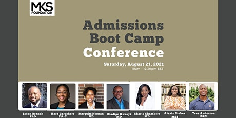 ADMISSIONS BOOT CAMP tickets