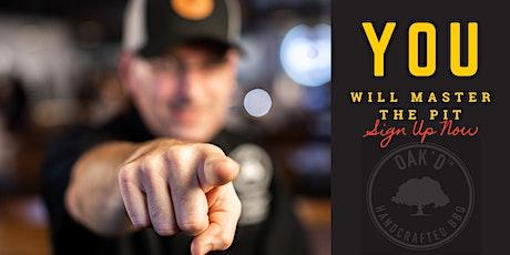 Pitmaster University Series Featuring  OAK'D Chef  Michael Lane tickets