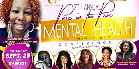 7th Annual Pain in the Pews: Mental Health and Ministry Conference tickets