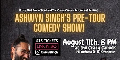 Ashwyn Singh's  night of comedy: Pre tour warm up show tickets