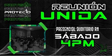 Reunión Unida - Jóvenes boletos