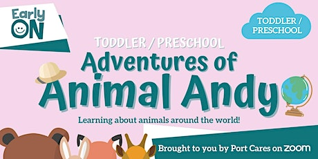 Adventures of Animal Andy: Dinosaurs tickets