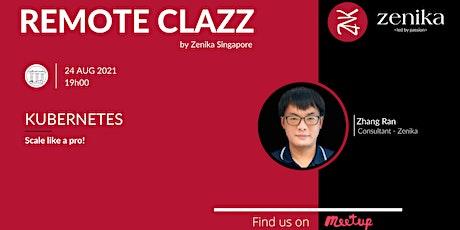 Scale like a pro with Kubernetes | RemoteClazz bilhetes