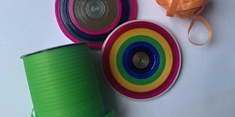 Free Community Workshop: Curling Ribbon Coasters tickets