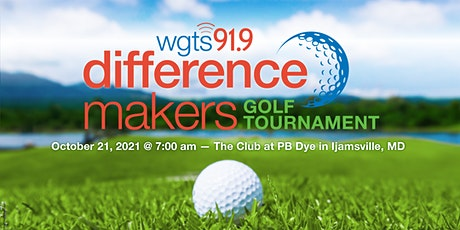 WGTS Difference Makers Golf Tournament 2021 tickets