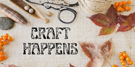 Craft Happens Fall (for Adults) tickets
