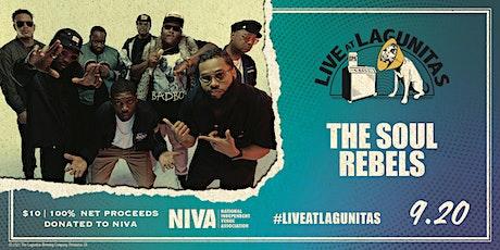 Live at Lagunitas: The Soul Rebels (w/ Karinda Dobbins) tickets