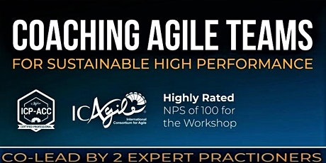 Agile Coaching (ICP-ACC) Certification - Week days Evenings tickets