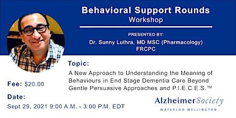 Behavioural Support Rounds Workshop tickets
