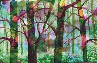 Painting with Acrylic and Alcohol Ink with Paula Crandell (Adult-Painting)