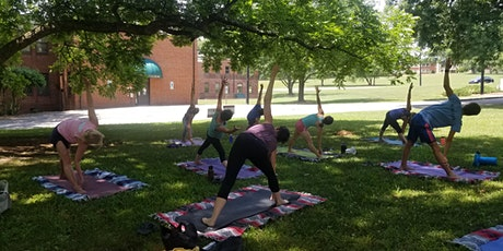 Raleigh Outdoor Yoga at Dix Park Sunday 8/22 at Noon! tickets