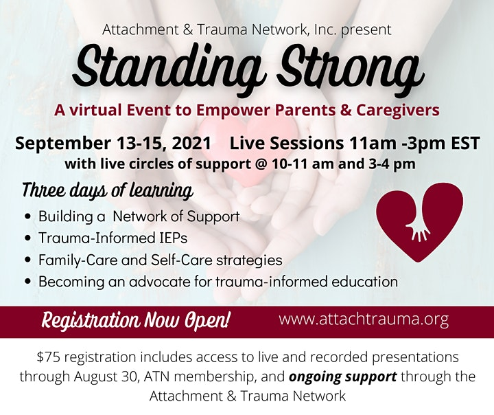 ATN's 2021 Standing Strong Conference image