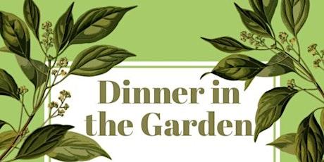 Dinner in The Garden tickets