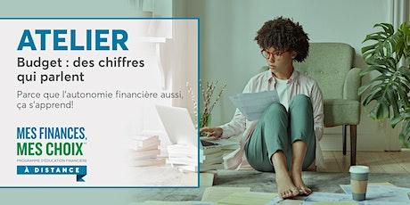 Atelier Mes finances, mes choix | Budget : des chiffres qui parlent billets