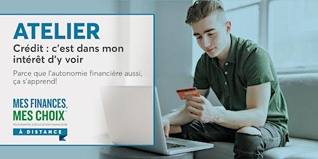 Atelier Mes finances, mes choix | Crédit : c'est dans mon intérêt d'y voir billets