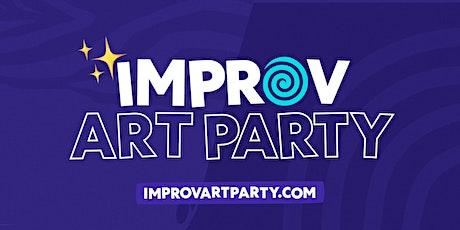 Improv Art Party @ Studio Spaces tickets