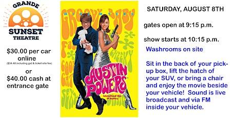 AUGUST 7TH - Big Screen Saturday Night Classic - Grande Sunset Theatre tickets