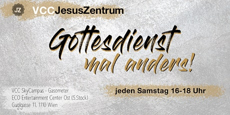 07. August - VCC JesusZentrum Gottesdienst Tickets