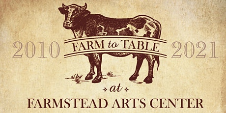 Farm-to-Table at Farmstead Arts Center tickets