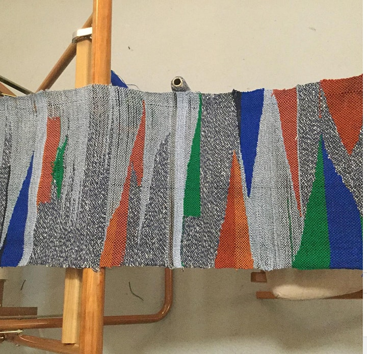 Festival of Natural Fibres: Introduction to Saori Weaving image
