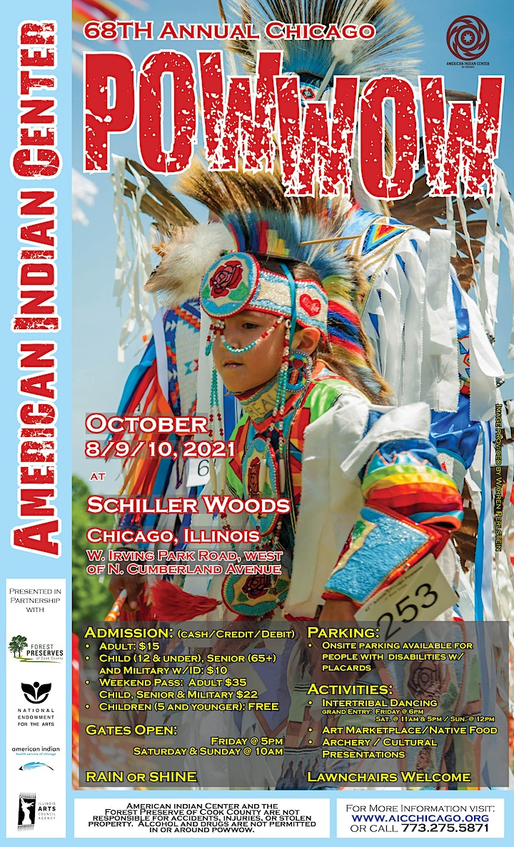American Indian Center's 68th Annual Powwow image