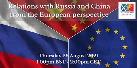 Relations with Russia and China from the European perspective billets