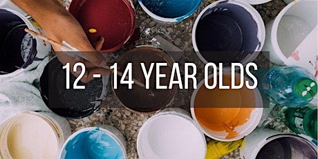 Paint and Dye Making workshop (12 - 14 year olds) tickets