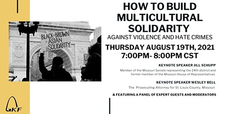 HOW TO BUILD MULTICULTURAL SOLIDARITY AGAINST VIOLENCE AND HATE CRIMES tickets