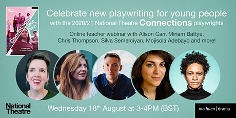 Introducing the plays of the 2020/21 National Theatre Connections festival tickets
